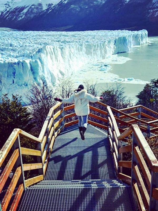 Pasarela del Parque Nacional Los Glaciares